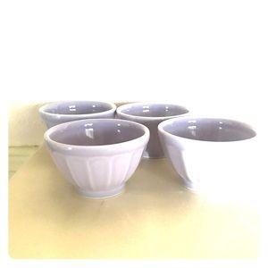 Small lilac bowls
